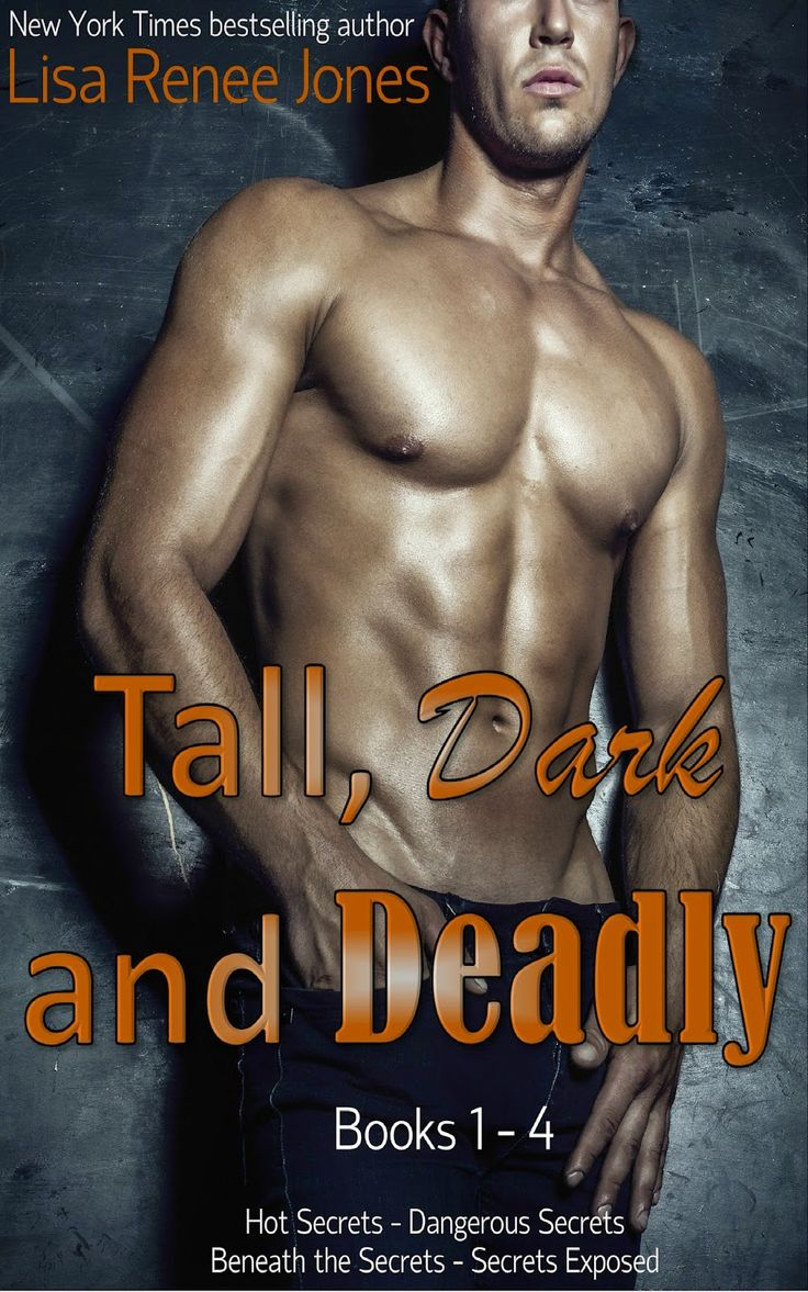 Book Sale!!! Tall, Dark And Deadly Series By Lisa Renee Jones 4