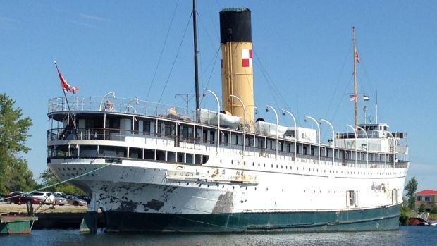 S.S. KEEWATIN HISTORIC STEAMSHIP IS GETTING A GRANT TO HELP WITH RESTORATION PROJECT