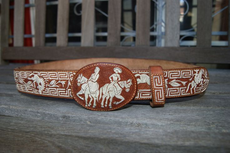charro belt buckle plata sterling pitiado piteado spurs mexican mariachi cinto by cowboy2873 on Etsy