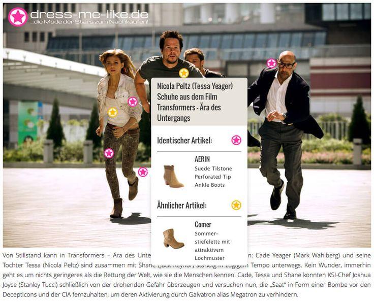 Nicola Peltz (Tessa Yeager) Schuhe (AERIN) aus dem Film Transformers – Ära des Untergangs