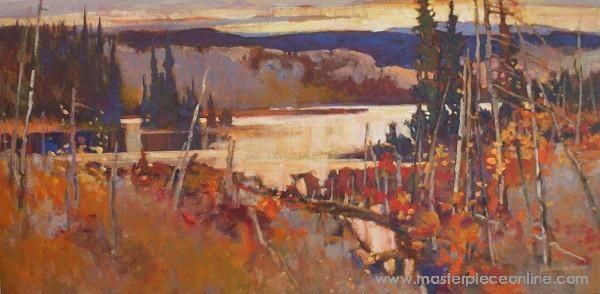 evening light algonquin brian atyeo find out more from masterpiece ...