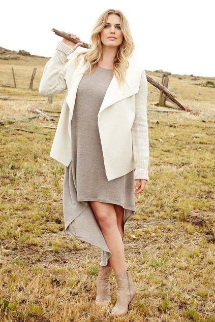 boho bird Falling For You Dress - Womens Calf Length Dresses at Birdsnest Online