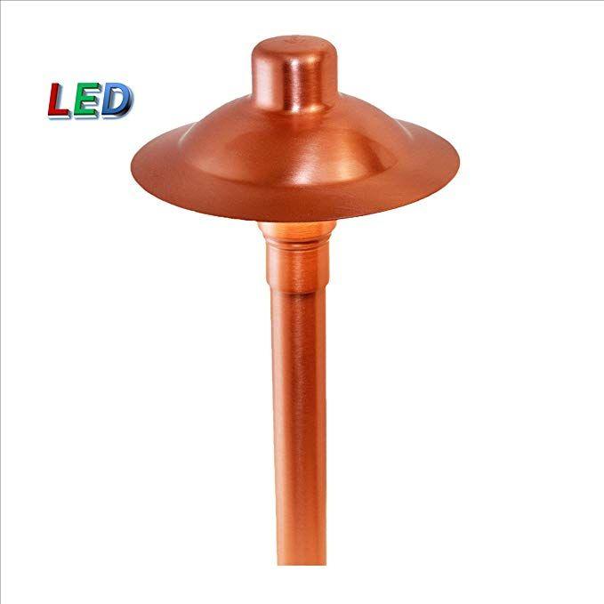 P M Lighting Cs936 Led Professional Series Copper Path Area Light Review Copper Lighting Led Landscape Lighting
