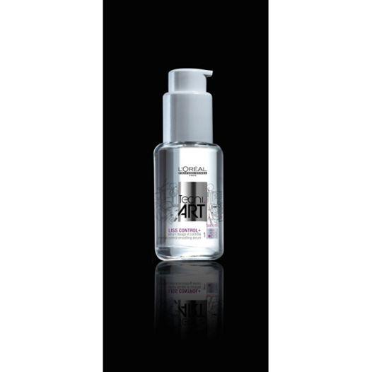 L'OREAL TECNI ART LISS CONTROL+ 50 ML. (Lucentezza e disciplina) FORZA1 Siero lisciante controllo intenso per capelli crespi, mossi o ribelli.