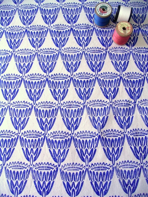 Jezzeprints block printed fabric