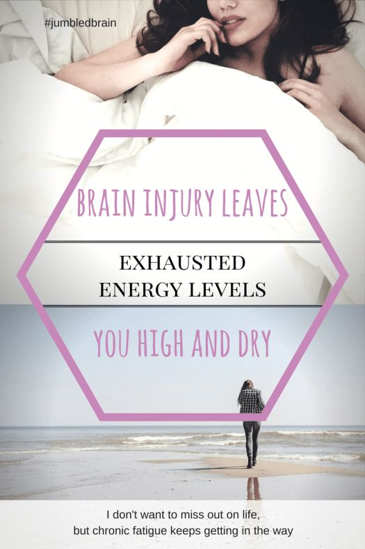 My blog on living with brain injury: How it's tempting to push yourself when you have no energy, but the recovery time is longer than you imagine.
