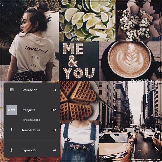 Da un toque estilo vintage a las fotos, queda muy lindo en fotos con color café, gris, da un toque muy lindo a fotos que tengan también el verde y blanco. El filtro es gratis y la app es VSCO! • Comenta tu edad al revés :coffee: Les dejo el antes y después del filtro en /extra/.cool