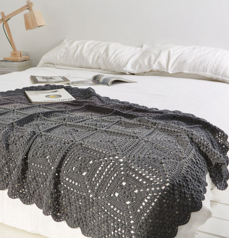 Who needs 50? This grey blanket is top of our make list from issue 29 of Simply Crochet, on sale now