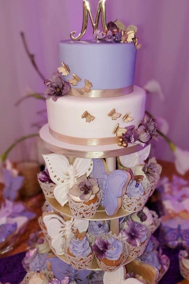 Butterfly cake purple purple butterfly cake from