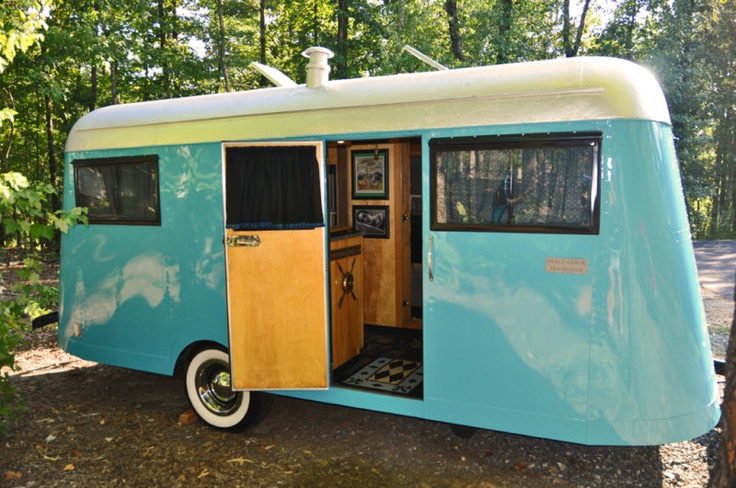 ULTRA RARE 1937 VintageTravel Trailer Pierce Arrow Model B 20 FT  not AIRSTREAM