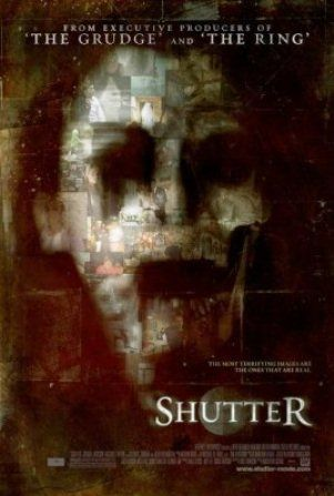 """Shutter"" - A newly married couple discovers disturbing, ghostly images in photographs they develop after a tragic accident. Fearing the manifestations may be connected, they investigate and learn that some mysteries are better left unsolved. Image and info credit: IMDb."