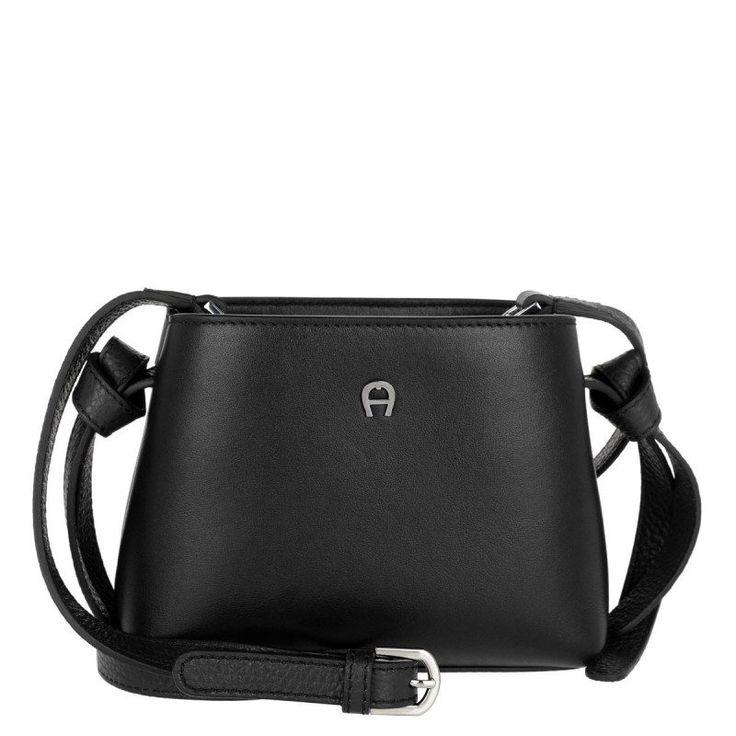 Aigner Aigner Tasche – Carla Mini Crossbody Black – in schwarz – Umhängetasche für Damen