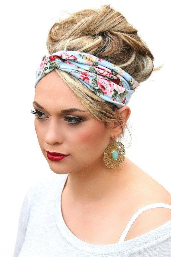 Cotton Twist Headbands | Floral Designs