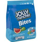Jolly Rancher Bites Watermelon & Green Apple Soft Chewy Candy, 10 oz Image 1 of 2