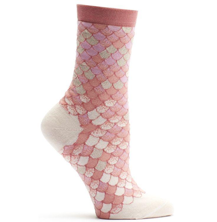 Ozone Design Womens Iridescent Scales Sock | Shop Novelty Socks - Ozone Design Inc