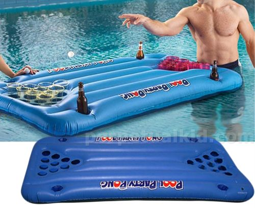 Pool Party Pong: Beer Pong, Pool Parties, Party Pong, Idea, Beerpong, Pool Beer, Summer Fun, Pools