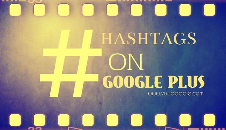Learn how to use Hashtags on Google Plus for maximum exposure http://www.yuubabble.com/threads/learn-how-to-use-hashtags-on-google-plus-for-maximum-exposure.3016/ #GooglePlus #Hashtags