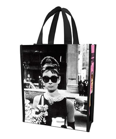 Another great find on #zulily! Breakfast at Tiffany's Small Shopping Tote - Set of Two #zulilyfinds