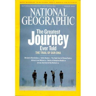 Publish something in National Geographic