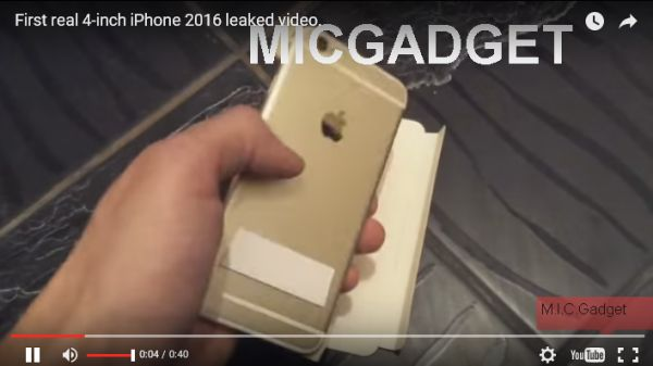 Video Purports To Show New 4 Inch iPhone 6C - iPhone News - Front Page Comments & Discussion - iPhone Forum