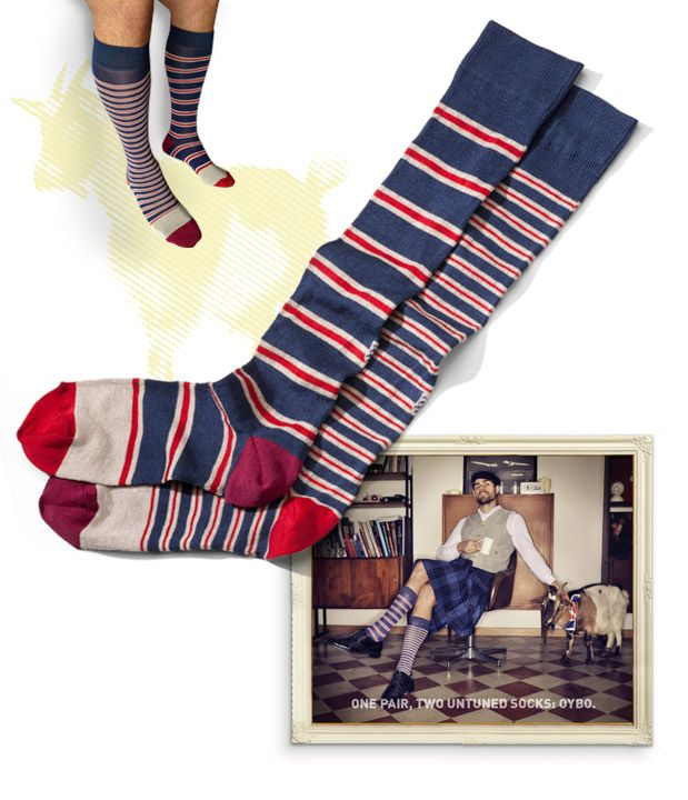 Baton Rouge socks | Light drawer | Oybō: untuned socks for smart feet