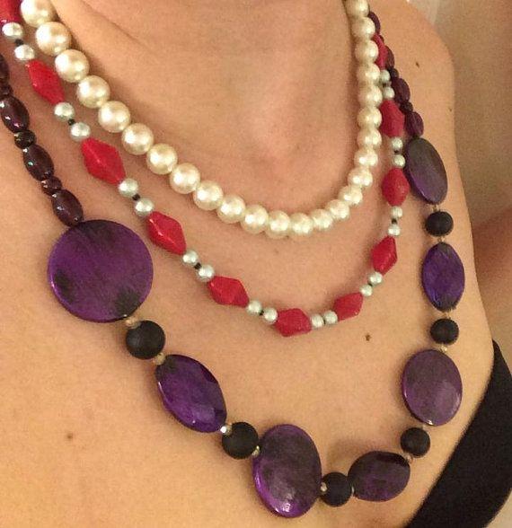 Lulu Final Fantasy X Inspired Necklace Set by TheSheikSheikahShop, $25.00