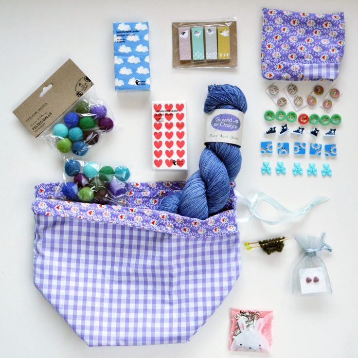 Creating the Perfect Crafty Knitter Care Package.