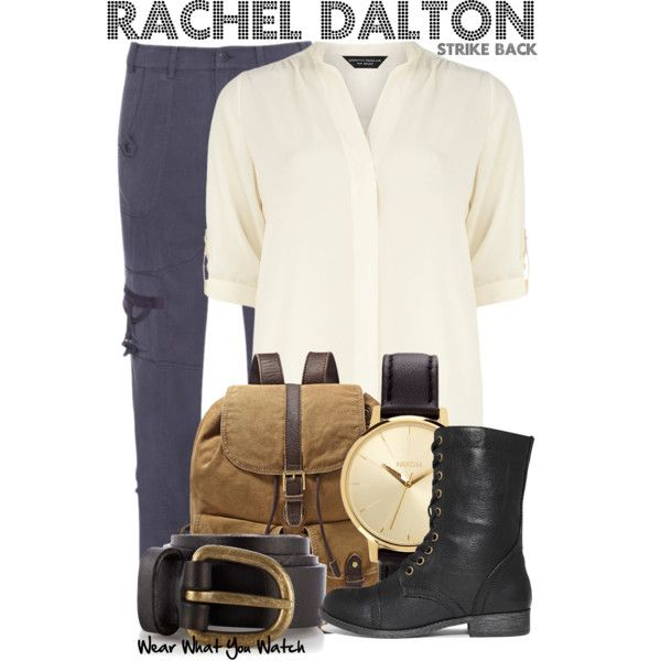 Inspired by Rhona Mitra as Rachel Dalton on Strike Back.