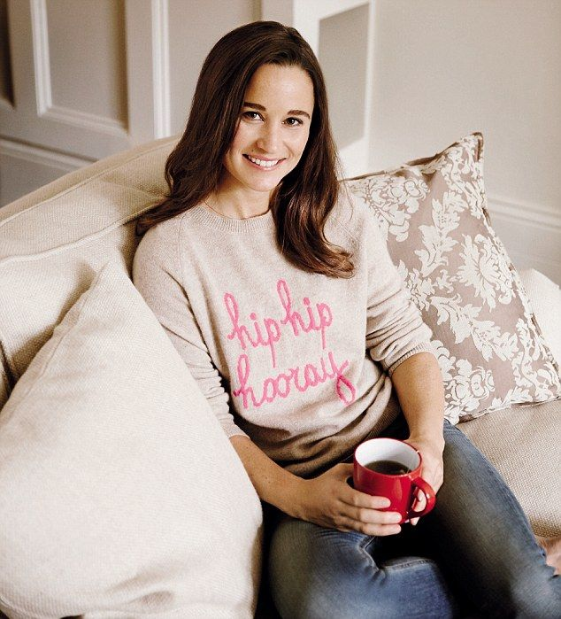 Pippa Middleton shares her tips for cooking simple, delicious meals from scratch - that also benefit people with a heart condition