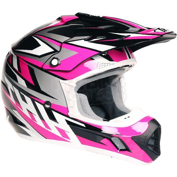2016 THH TX-12 Helmet - Strike II Black Pink
