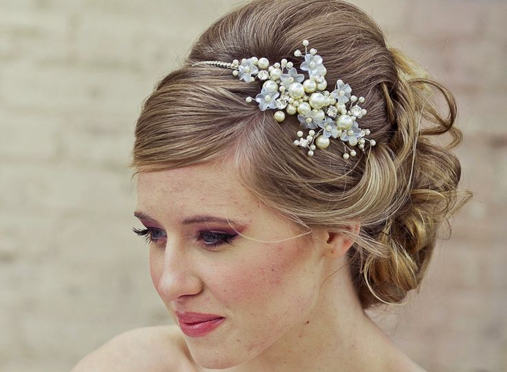 Best 25+ Wedding Headband Hairstyles Ideas On Pinterest