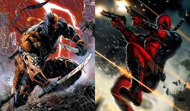 Batalla Comparativa: Deathstroke VS Deadpool