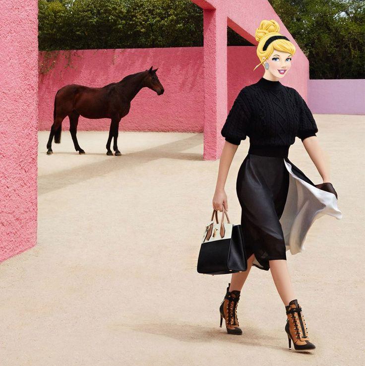 Высокая мода встречает Диснея: Мульт реальность Григория Masouras