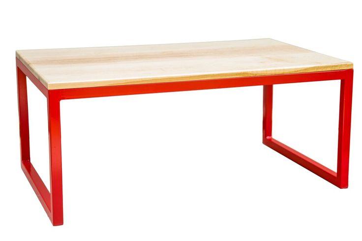 Birdseye maple coffee table