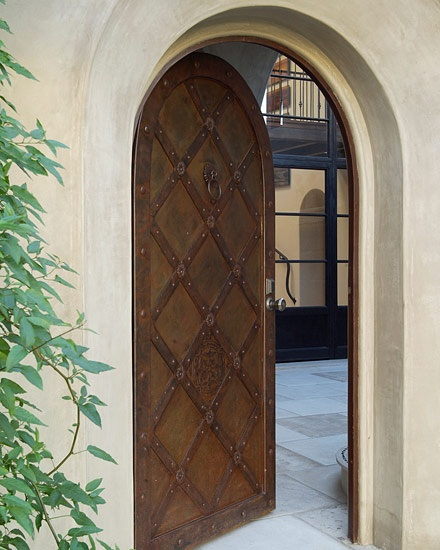 Mediterranean Style Entry Doors: 1000+ Images About B-Architecture: Tuscan Style Homes And