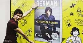 El youtuber Germán Garmendia también colapsó la feria del libro de Argentina