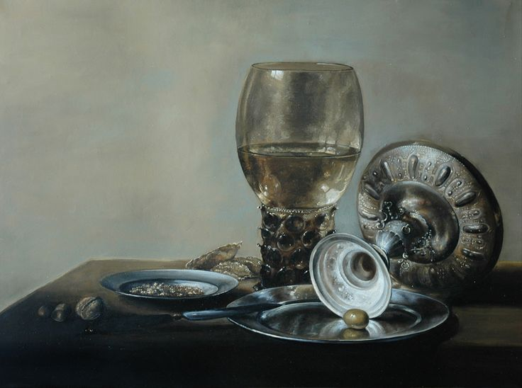 PIETER CLAESZ - COPY OF THE PAINTING TECHNOLOGY