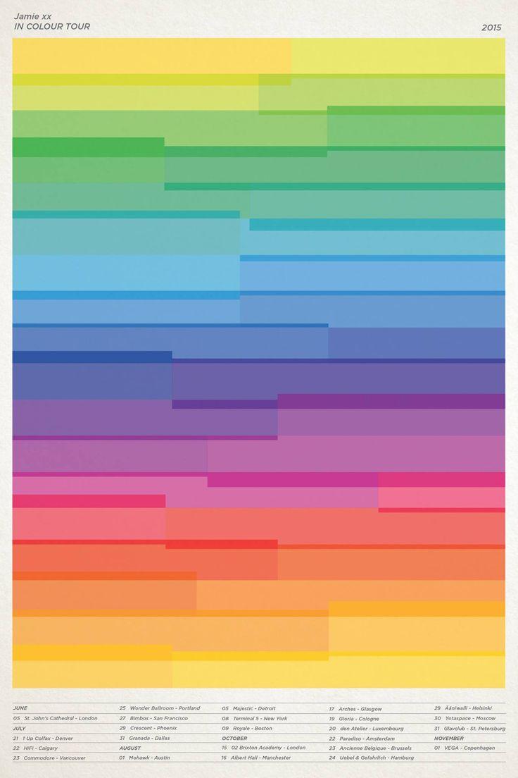 Jamie xx - In Colour Tour 2015