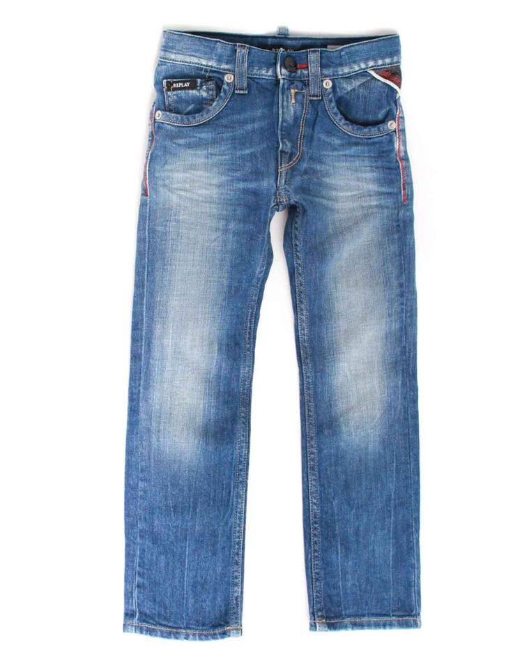 Replay Slim Fit Denim Jeans Stonewash   Accent Clothing