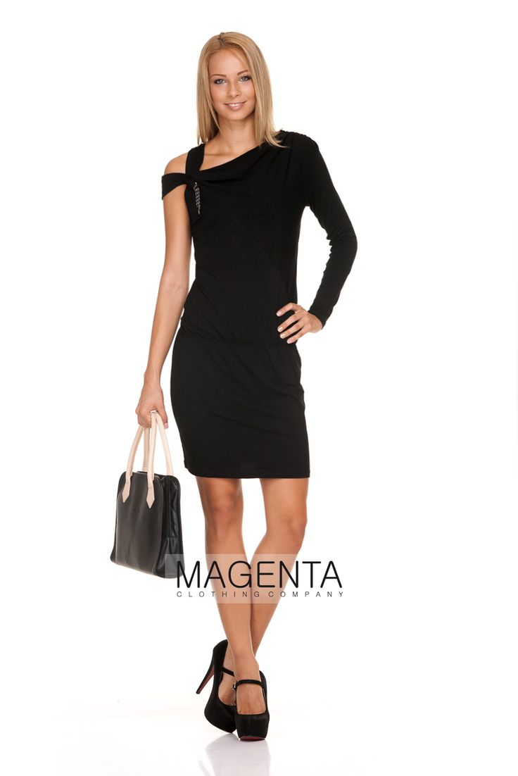Must have autumn black dress! #magentafashion #musthave
