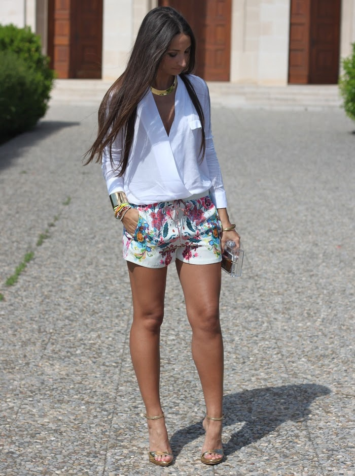 love this outfit - white & white