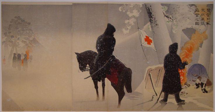 Kobayashi Kiyochika, 1895