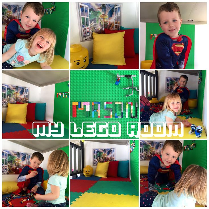 3rd level in their cubby house / fort. Lego play area. They love it.