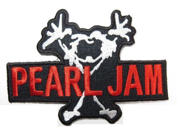 Pearl Jam Patch Band Logo Badge Iron On Tattoo Alternative