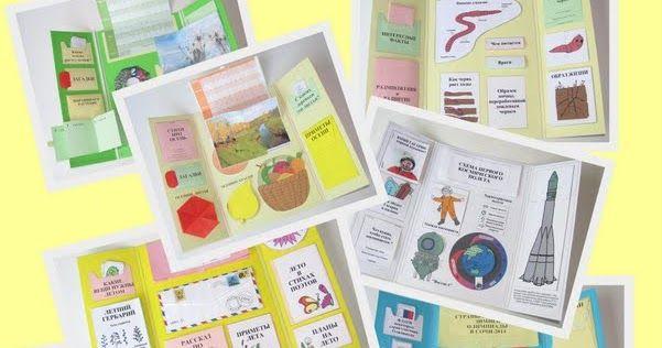 Как сделать лэпбук (lapbook, лепбук) своими руками. Скачать шаблоны для распечатки лэпбуков. Интерактивные тематические папки на любые темы: времена года, животные, окружающий мир, математика, праздники.