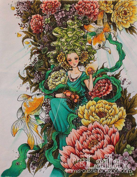 Fantasy Art Malbuch Mit 19 Bilder