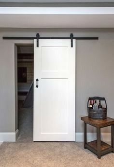 Sliding barn doors, adding the perfect touch to any space!