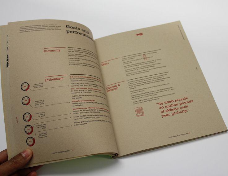 STAPLES // CSR REPORT on Behance