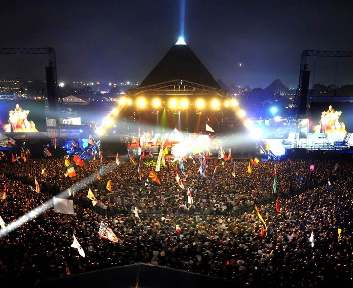 Glastonbury festival, when it comes to music festivals, definitely a must!