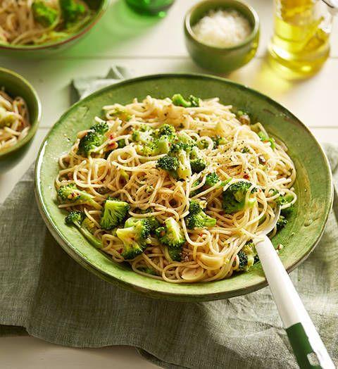 Spaghetti With Broccoli And Chilli Recipe Better Homes